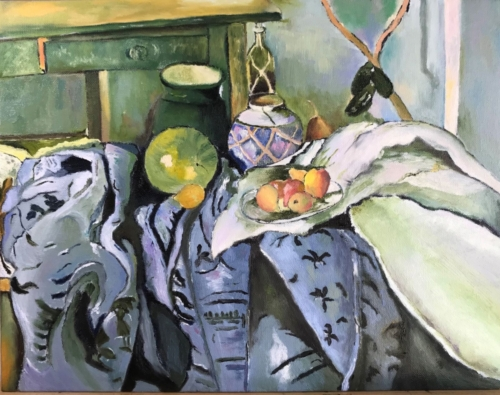 Cezanne Still Life with Ginger Jar