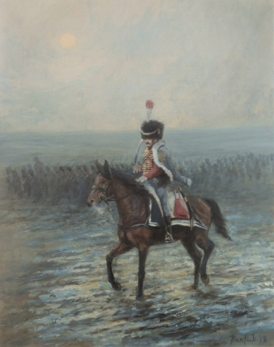 Hussar in Snow