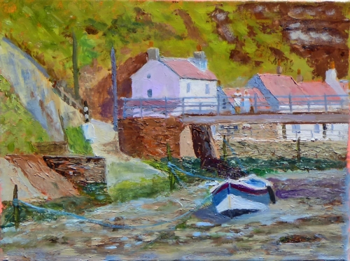 Lone Coble at Staithes