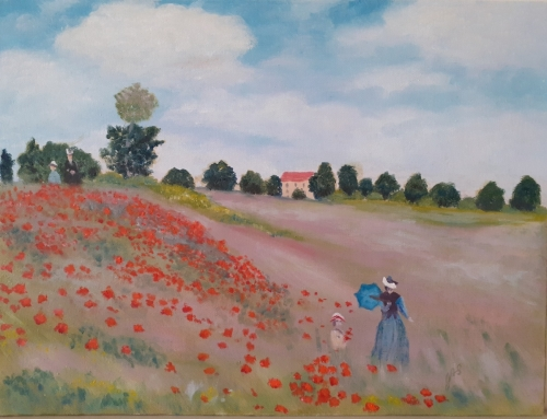 A Stroll in the Poppies (1)