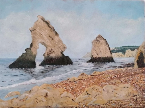 Arch and Stag Rock