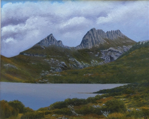 Storm rising over Cradle Mountain, Tasmania