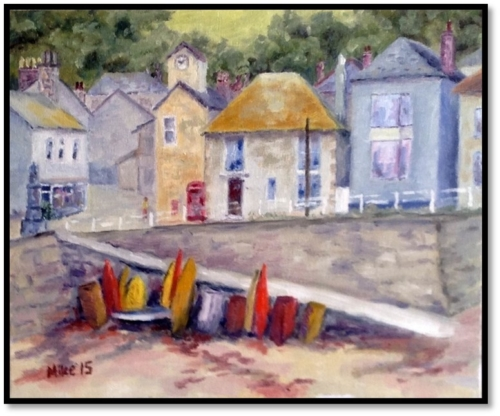 Boards and Boats in Mousehole 2015
